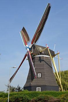 Flour mill Nooit Gedacht, Arnemuiden, the Netherlands