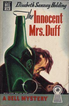 The Godmother of Noir: Elisabeth Sanxay Holding - Criminal Element Vintage Book Covers, Vintage Comic Books, Comic Book Covers, Vintage Comics, Pulp Fiction Book, Crime Fiction, Paperback Writer, Best Mysteries, Book Cover Art