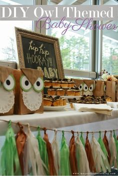 Owl Themed Baby Shower Inspiration!