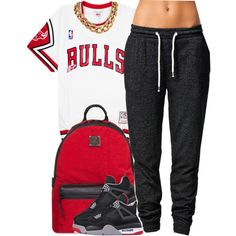october 17, 2k14 by xo-beauty on Polyvore featuring SELECTED, MCM and NIKE
