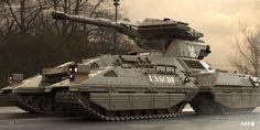 ArtStation - More HALO ANNIVERSARY work - Scorpion tank , Reno Levi
