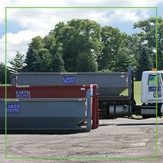 Lakes Disposal Services Inc P O Box 296 Fox Lake Illinois 60020 Dumpster Rental Rely On Lakes Disposal S Dumpster Rental Dumpster Roll Off Dumpster