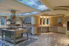 Now THAT'S a Kitchen to Eat In! #SALES #MANSIONS #NYC