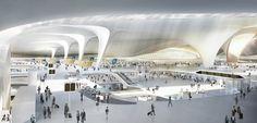 #homify #ZahaHadid #Architektur #Hadid #Zaha #Airport #China