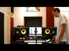 Learn to make Acoustic Panels / Bass Traps - Sound Test - Start to finis...