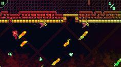 RunGunJumpGun es un juego arcade difícil, desafiante, rápido y muy retro
