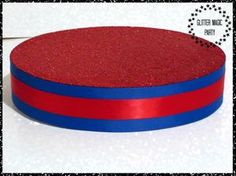Red Stand - Lollipops or Cakepops Stand - Red and Blue Colors