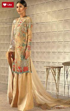 38fbc0a9e7603 Tena Durrani Floret Luxury Pret Traditional 2017  Teena Durrani  Teena  DurraniFloret  Teena DurraniLuxury