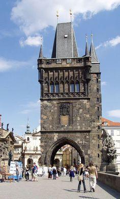 Česko, Praha - Staroměstská mostecká věža