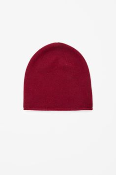 COS Speckled Cashmere Hat in Dark Red, £35. My sister has bought me this for Christmas and I cannot wait!