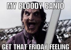 Get that #FridayFeeling by following #MyBloodyBanjo on #Twitter @banjomovie  #Facebook @mybloodybanjo #SupportIndieFilm 🎬🎥 Coming Uncut ✂️