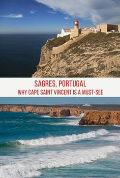 Sagres Portugal is one of the most beautiful places in Europe. It is very close to Cape Saint Vincent, the southwesternmost point of this continent. Sagres is a must-see for all Portugal travel aficionados. Places In Europe, Europe Destinations, Europe Travel Tips, European Travel, Travel Guides, Places To Travel, Places To Visit, Travel Abroad, Travel Advice