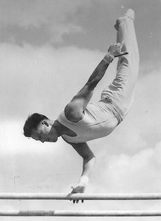 In mourning: 1952 Olympic gymnast Jean Tschabold (SUI) passed away at the age of 86