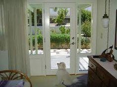 Dog Door In Side Lite. Http://www.eleganceentries.com/