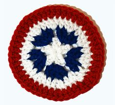Ravelry: Patriotic Coaster pattern by Deja Joy