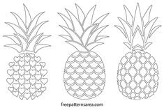 While in the attic, you could take advantage of additional space, either to optimize storage space or create new living spaces. Pineapple Template, Pineapple Art, Pineapple Design, Pineapple Images, Pineapple Pattern, Templates Printable Free, Printables, Motif Vector, Ideas