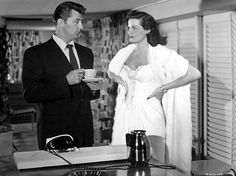 Jane Russel and Roy Rogers | Robert Mitchum, Jane Russell-- His Kind of Woman