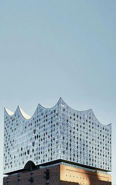 Elbe Philharmonic Hall Hambourg by Herzog de Meuron.