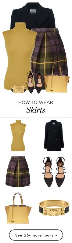 """""""It's Tuesday!"""" by divacrafts on Polyvore featuring Étoile Isabel Marant, P.A.R.O.S.H., Giambattista Valli, H&M, Fendi, CC SKYE and Original"""