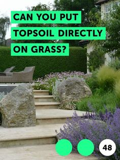 Can You Put Topsoil Directly on Grass?. Topsoil refers to the rich and fertile topmost layer of earth that is composed from years of the chemical and physical actions of a particular climate on rock and organic material in the soil. This gradual decomposition creates a soil texture that is best for plant growth. However, topsoil is not only scarce,...