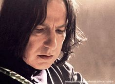 "severus-snape-my-eternal-prince: ""xpolyjuicepotion: ""severus-snape-my-eternal-prince: "" Bewitching our minds and ensnaring our senses! ♥ ♥ ♥ "" I think this is my new favorite gif!!"