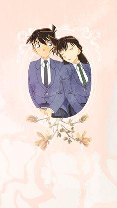I totally ship it Manga Detective Conan, Detective Conan Shinichi, Ran And Shinichi, Kudo Shinichi, Magic Kaito, Detektif Conan, Detective Conan Wallpapers, Kaito Kid, Anime Ships