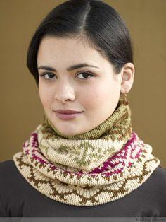 提花脖套 - 编织幸福的日志 - 网易博客