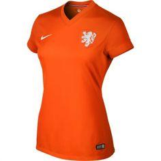 Netherlands Nike Ladies 2014 World Soccer Soccer Home Jersey