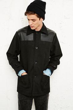 Vintage Renewal Donkey Jacket in Black http://uoeur.pe/UOvintage #UrbanOutfittersEurope #Vintage