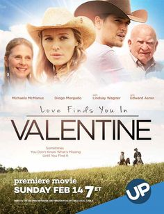 """Its a Wonderful Movie - Your Guide to Family Movies on TV: UP Movie: """"Love Finds You in Valentine"""""""