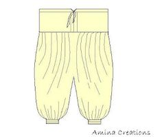 AMINA CREATIONS: HOW TO STITCH A HAREM PANT / SEWING BASICS