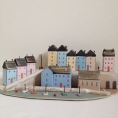 Tenby harbour by Shabby Daisies