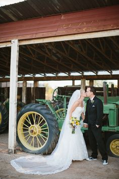 The bride wore her mother's veil. Can't get enough of these pics! The Windmill Winery, AZ wedding venue