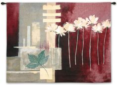 Contemporary Crimson II Wall Tapestry by Carol Robinson at AllPosters.com