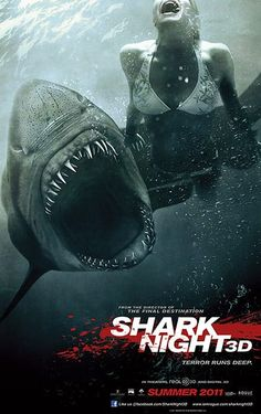 Shark Film Posters: Shark Night 3D