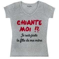 17 meilleures images du tableau T-shirt et Sweat Citations venivici ... fe3daca54295