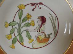 Rotkäppchen kommt nicht am Primelchen vorbei  von minipli Porzellan