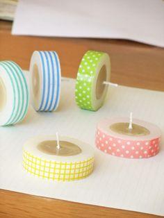 masking tape ? candle