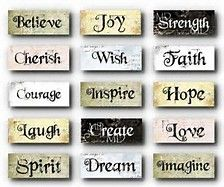 Grungy Inspirational Words - Charms - Sampler - Digital Collage Sheet - NEW Art Quotes, Life Quotes, Inspirational Quotes, Motivational Quotes, Word Collage, Collage Artwork, Collage Sheet, Shops, Positive Images