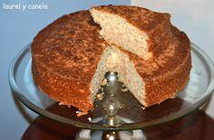 Laurel y Canela: Bizcocho de manazana, queso y canela