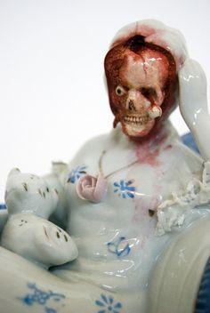 Horror Ceramics   Jessica Harrison