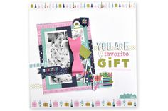 Bella Blvd Holy Jolly Christmas Collection | You Are My Favorite Gift Layout by Amy Heller