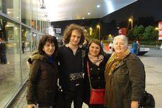 Marta Lenartowicz  Follow · June 4     .  With Ruslan Sirota at Tempodrom.