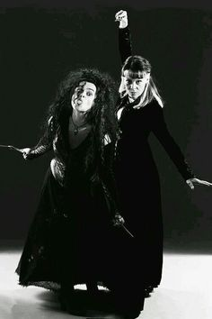 Narcissa and Bellatrix