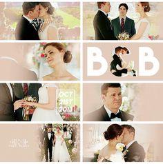 Happy anniversary Mr. and Mrs. Booth❤   We miss u sooooo bad  ❤❤❤❤❤❤