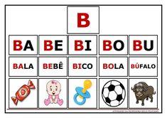 Atividades de Sílabas e palavras para imprimir Portuguese Lessons, Home Schooling, Literacy, Homeschool, Playing Cards, Teaching, Activities, Education, Games
