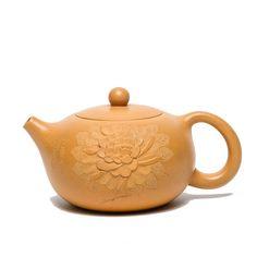 Yixing Teapot, Pottery Teapots, Peony, Tea Pots, Delicate, Carving, Inspire, China, Art