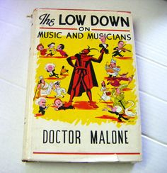 1954 First Edition Autographed The Low Down On Music by parkledge, $75.00