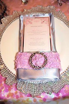 Ravishing pink and grey Styled Wedding Shoot by LilyV Events | Calligraphy by Jennifer