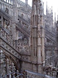 ✯ Milano Duomo Detail - Italy